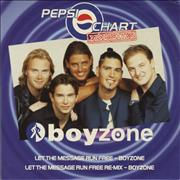 Click here for more info about 'Boyzone - Let The Message Run Free'