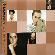 Click here for more info about 'Boyzone - No Matter What - Beige P/S'