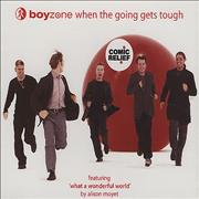 Click here for more info about 'Boyzone - When The Going Gets Tough - '99 Comic Relief'