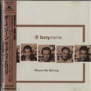 Click here for more info about 'Boyzone - Where We Belong'