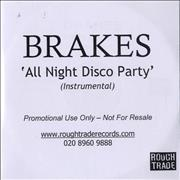 Click here for more info about 'Brakes (00s) - All Night Disco Party - Instrumental'