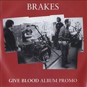 Click here for more info about 'Brakes (00s) - Give Blood - Album Promo'