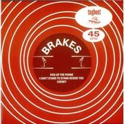 "Brakes (00s) Pick Up The Phone UK 7"" vinyl"