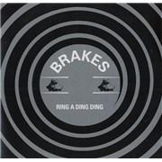 Brakes (00s) Ring A Ding Ding UK CD-R acetate Promo