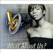 Click here for more info about 'Brandy - What About Us - picture disc'