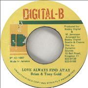 Click here for more info about 'Brian & Tony Gold - Love Always Find Away'