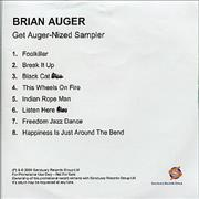 Click here for more info about 'Brian Auger - Get Auger-Nized Sampler'