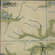 Click here for more info about 'Brian Eno - Ambient #1 Music For Airports + insert'