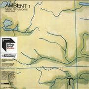 Brian Eno Ambient 1: Music For Airports - 180gram Vinyl + Half Speed UK 2-LP vinyl set