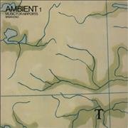 Brian Eno Ambient #1 Music For Airports UK vinyl LP