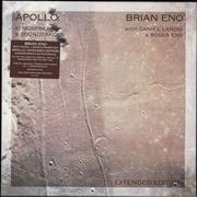 Click here for more info about 'Brian Eno - Apollo - Atmospheres & Soundtracks: Expanded - 180gm Vinyl - Sealed'