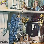 Brian Eno Here Come The Warm Jets - 1st UK vinyl LP