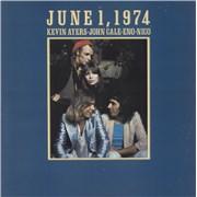 Brian Eno June 1, 1974 - 1st - VG+ UK vinyl LP