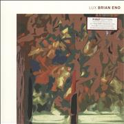 Brian Eno Lux - 180gm DMM Vinyl + Art Prints UK 2-LP vinyl set