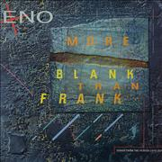 Click here for more info about 'Brian Eno - More Blank Than Frank + Print'