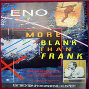 Click here for more info about 'Brian Eno - More Blank Than Frank'