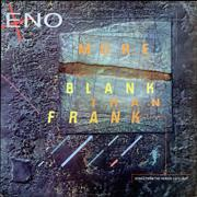 Brian Eno More Blank Than Frank UK vinyl LP