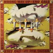 Brian Eno Wrong Way Up Germany vinyl LP