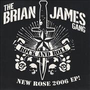 Click here for more info about 'Brian James - New Rose 2006 EP'