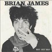 Click here for more info about 'Brian James - Why? Why? Why? - Green vinyl'