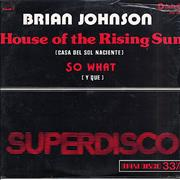 Click here for more info about 'Brian Johnson - House Of The Rising Sun'
