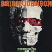Click here for more info about 'Brian Johnson - Strange Man'