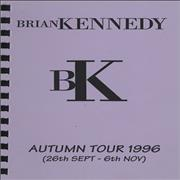 Click here for more info about 'Brian Kennedy - Autum Tour 1996'