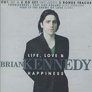 Click here for more info about 'Brian Kennedy - Life Love And Happiness'