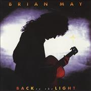 "Brian May Back To The Light UK 7"" vinyl"