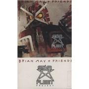 Brian May Star Fleet Project UK cassette album