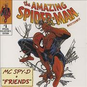 Brian May The Amazing Spider-man UK CD single