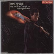 Click here for more info about 'Brian May - We Are The Champions + Hank Marvin'