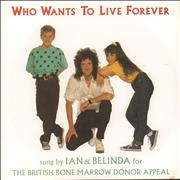 Click here for more info about 'Brian May - Who Wants To Live Forever - EX'