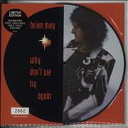 Click here for more info about 'Brian May - Why Don't We Try Again'