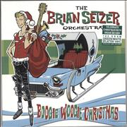 Click here for more info about 'Brian Setzer - Boogie Woogie Christmas - Green & White Vinyl - Sealed'
