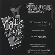 Click here for more info about 'Brian Setzer - This Cat's On A Hot Tin Roof'
