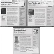 Click here for more info about 'Brian Vander Ark - 3-CD Promotional Album Set'