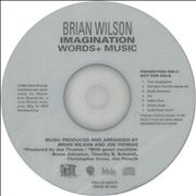 Click here for more info about 'Imagination - Words & Music'