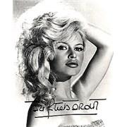 Click here for more info about 'Brigitte Bardot - Autographed Portrait Photograph'