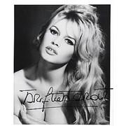 Click here for more info about 'Brigitte Bardot - Autographed Publicity Photograph - towel'