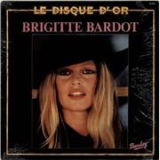 Brigitte Bardot Le Disque D'Or France vinyl LP