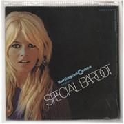 Brigitte Bardot Special Bardot (Burlington Cameo Brings You) - shrink USA vinyl LP Promo