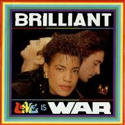 Click here for more info about 'Brilliant - Love Is War'