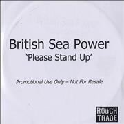 Click here for more info about 'British Sea Power - Please Stand Up - Title sleeve'