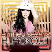 Britney Spears Blackout UK CD album