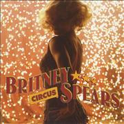Britney Spears Circus USA CD single Promo
