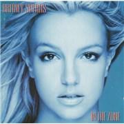 Britney Spears In The Zone UK CD album