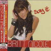 Click here for more info about 'Britt Nicole - Say It'