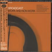 Broadcast Work And Non Work Japan CD album Promo