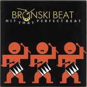 "Bronski Beat Hit That Perfect Beat Japan 12"" vinyl"
